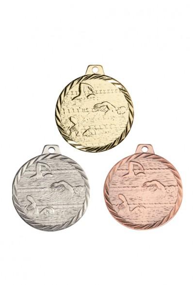 Lot de 50 médailles Course à pied NZ17 avec Ruban