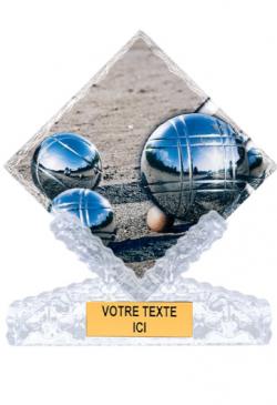 Trophée Personnalisé Figurine - 8551