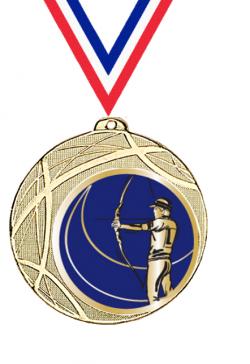 Trophée en Verre avec Applique :13661