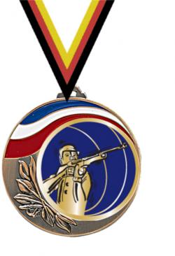 Trophée en Verre avec Applique :13051