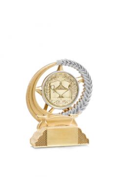 lot de 100 médailles arts martiaux dorée 50mm