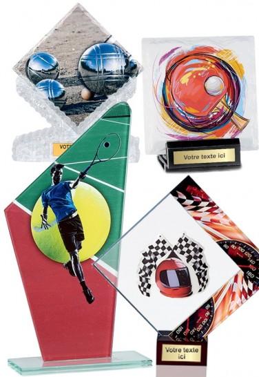 """Trophées Verre """"Tous les sports"""""""